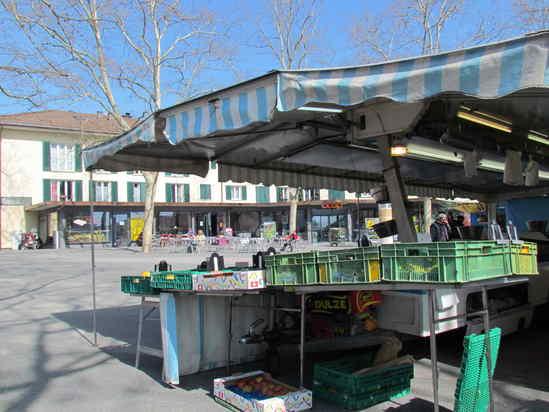 Marché de Confignon - point de vente